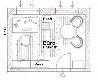 tipps zur einrichtungsplanung eines b ros einrichtung und m bel. Black Bedroom Furniture Sets. Home Design Ideas